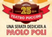 Venticinque anni di attività al Teatro Puccini. Una serata dedicata a Paolo Poli