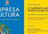 12° Rapporto annuale Federculture 2016