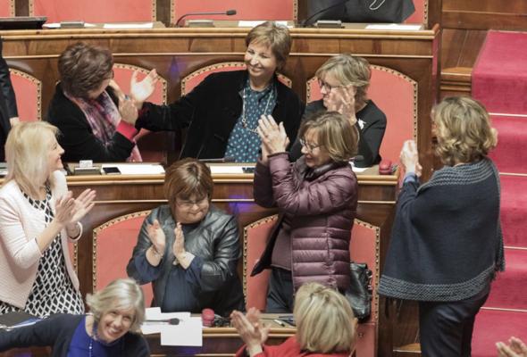 """Di Giorgi eletta Vice Presidente del Senato. """"Sono onorata ed emozionata"""""""