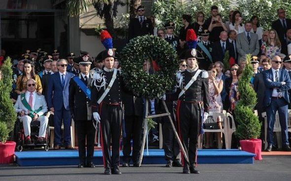 Firenze, 203° anniversario della fondazione dell'Arma dei Carabinieri