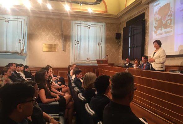 Senato: Rosa Maria Di Giorgi incontra i ragazzi finalisti del Concorso nazionale Ficlu Unesco