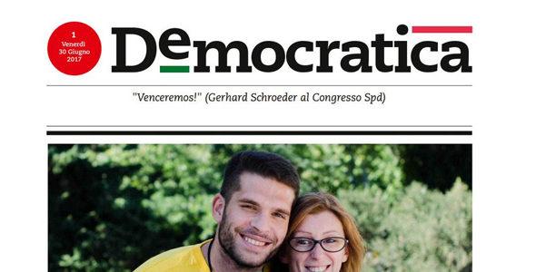 Democratica. Il quotidiano del PD, per tutti, ogni giorno