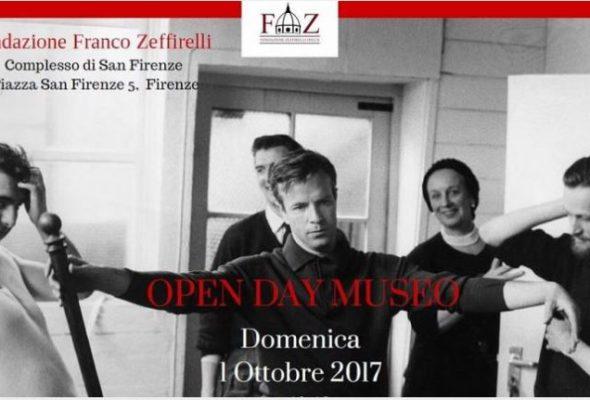 Open day alla Fondazione Franco Zeffirelli onlus