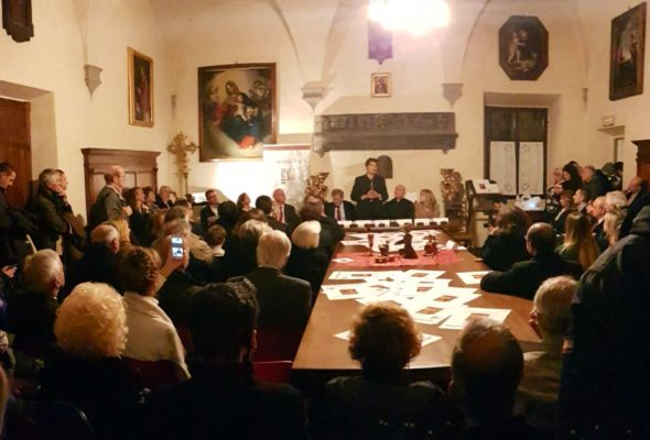 Premio Pinocchio di Carlo Lorenzini consegnato alla Basilica San Lorenzo