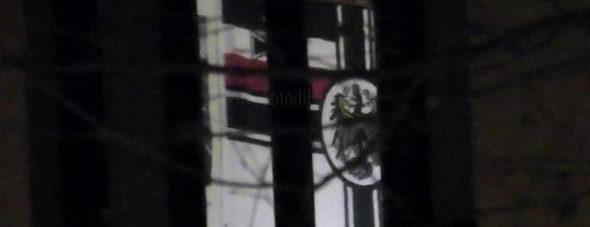 """Bandiera neonazista, Di Giorgi: """"Episodio preoccupante, si prendano provvedimenti"""""""