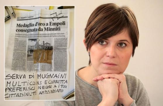 """Minacce sindaca Empoli. """"Solidarietà a Barnini e ferma condanna per un gesto che offende il Paese tutto"""""""
