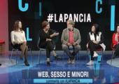 "Ospite a #LaPancia sul tema ""Web, sesso e minori"""