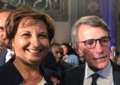Al presidente Sassoli le Chiavi della Città di Firenze