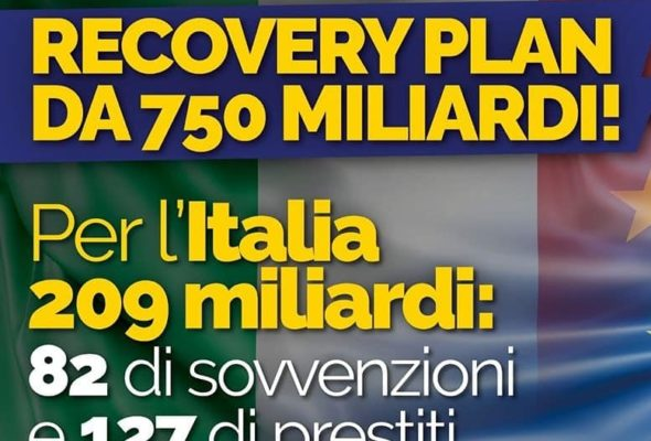 Recovery Fund: risorse importanti e svolta storica per l'Italia